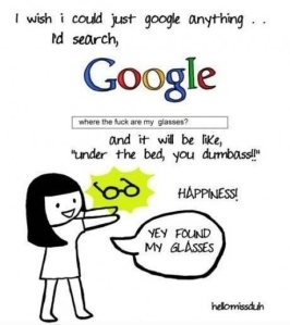 if only i could google everything!