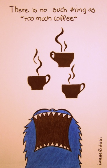 Jack the coffee monster