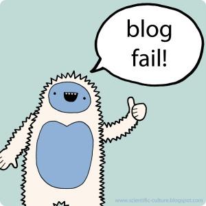 blog fail yeti
