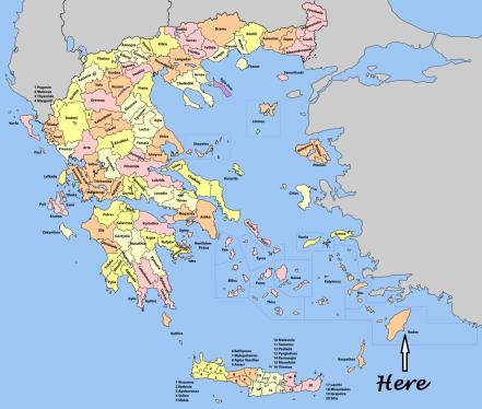 map - Rhodes