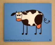Hipster Cow