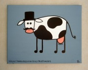 Mr Serious Cow