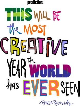creative new year resolution