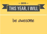 New year's resolutions #2014