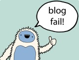 Blogging fails – What I've learned
