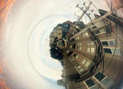 San Francisco street modified using Circular app